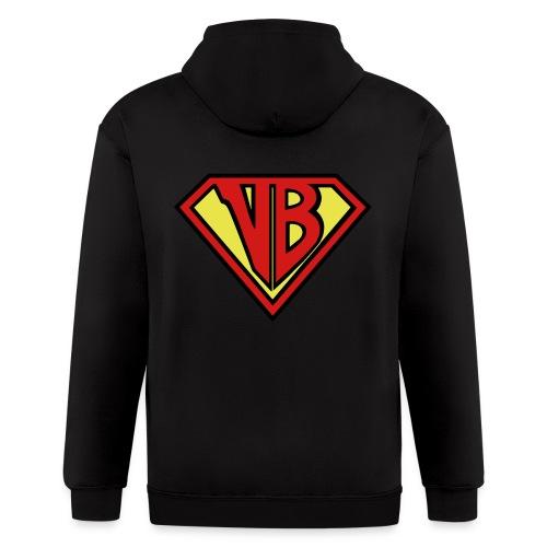 VB Hero Woman - Men's Zip Hoodie