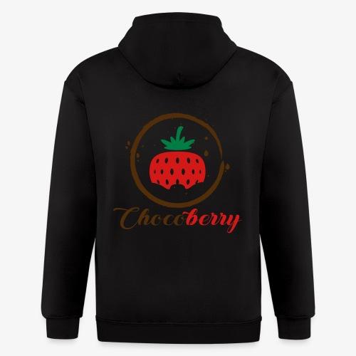 Chocoberry - Men's Zip Hoodie