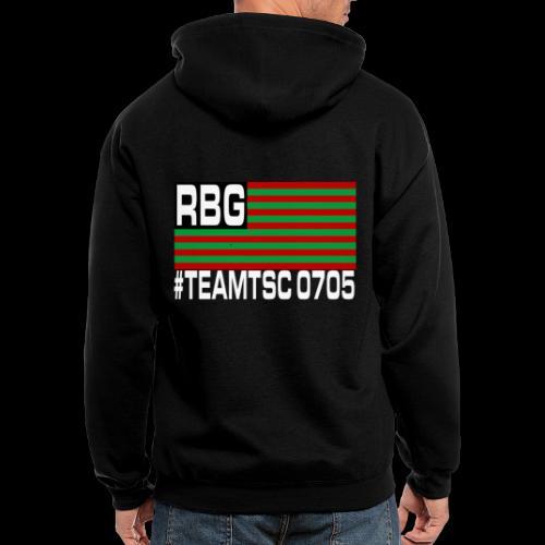 TeamTSC RBGFlag 2 - Men's Zip Hoodie