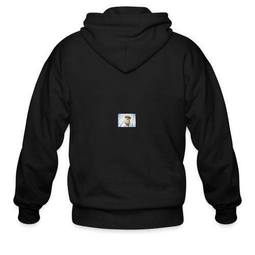 for my you tube channel - Men's Zip Hoodie