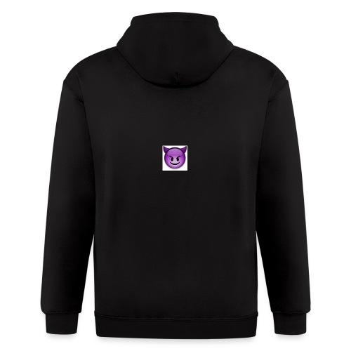Logo - Men's Zip Hoodie