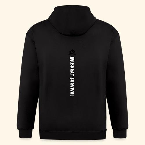 Muskrat Survival Tall - Men's Zip Hoodie