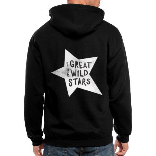 GWS: Classic Logo, Black and White - Men's Zip Hoodie