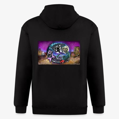 Mother CreepyPasta Land - Men's Zip Hoodie