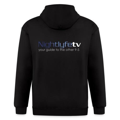 NTV Logo Full - Men's Zip Hoodie