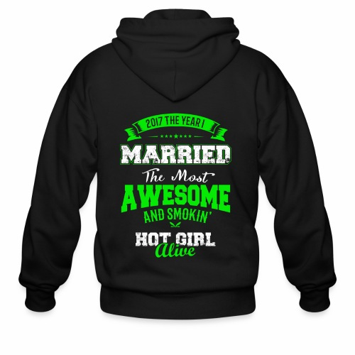 Married Husband - Men's Zip Hoodie