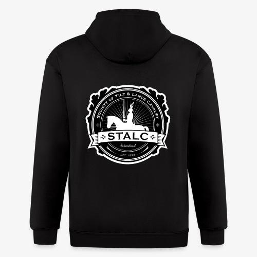 STALC Logo - Men's Zip Hoodie