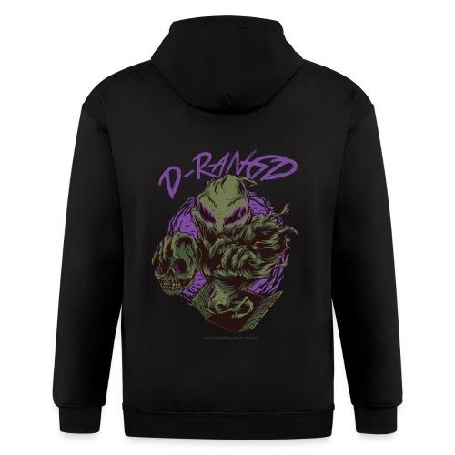 D-RaNGD Voodoo Ghost Logo - Men's Zip Hoodie