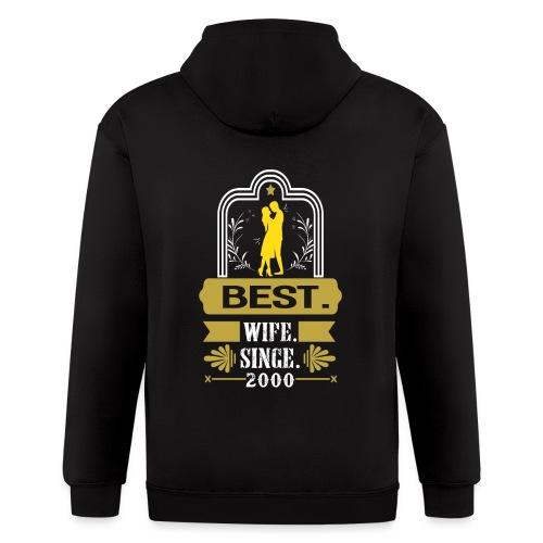 Best Wife Since 2000 - Men's Zip Hoodie