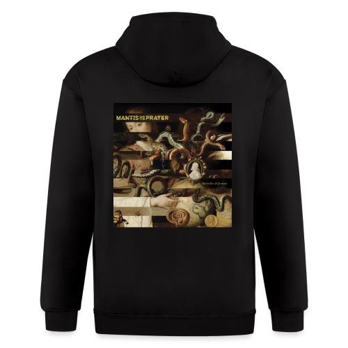 Mantis and the Prayer- Butterflies and Demons - Men's Zip Hoodie