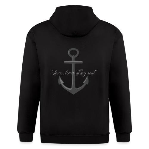 Anchor of my soul - Men's Zip Hoodie
