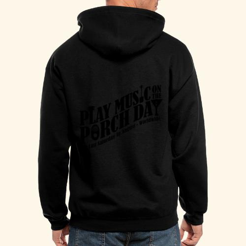 Play Music on the Porch Day - Men's Zip Hoodie