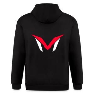 MADD Logo 1 - Men's Zip Hoodie