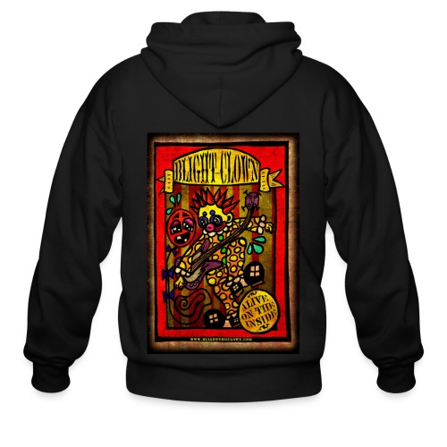 Blight the Clown Sideshow Banner - Men's Zip Hoodie