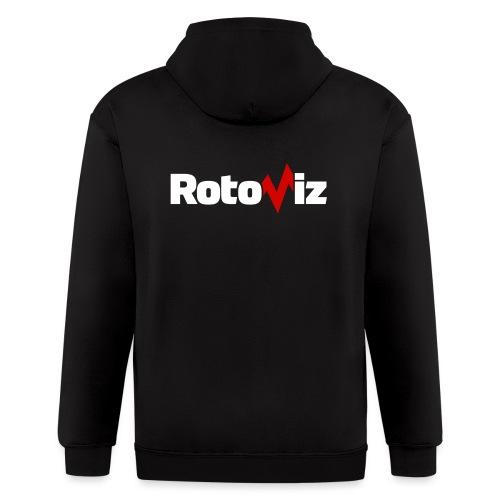 RotoViz - Men's Zip Hoodie