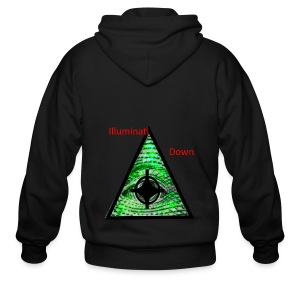 illuminati Confirmed - Men's Zip Hoodie
