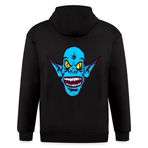 Alien Troll - Men's Zip Hoodie
