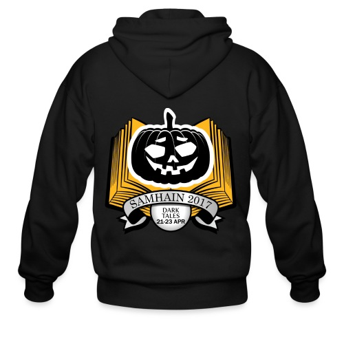 Samhain 2017 Logo shirt - Men's Zip Hoodie