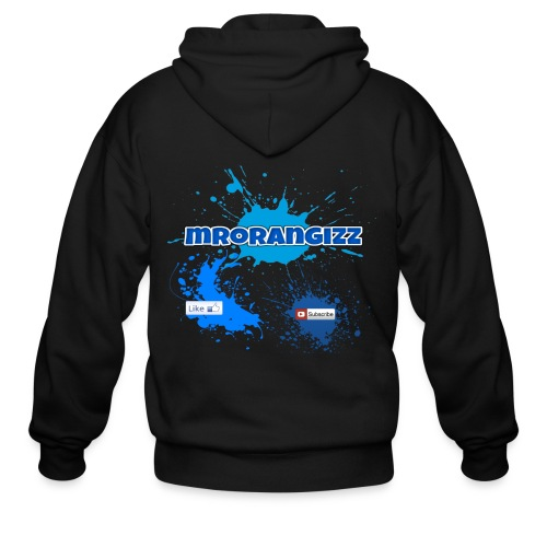 MrOrangizz Logo 1 - Men's Zip Hoodie