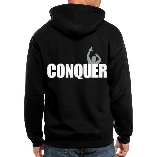 Zyzz Conquer - Men's Zip Hoodie