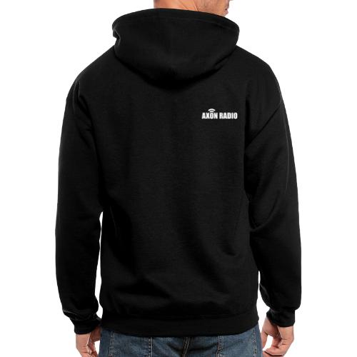 Axon Radio | White night apparel. - Men's Zip Hoodie