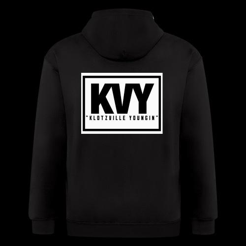 Klotzville Youngin Box Logo - Men's Zip Hoodie