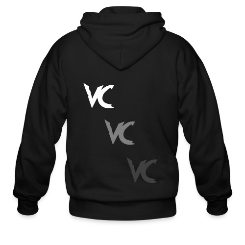 V3L0C1TY Logo Mugs & Drinkware - Men's Zip Hoodie