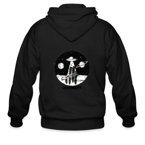 Space logo design - Men's Zip Hoodie