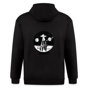 Space logo design - Men's Zip Hoodie