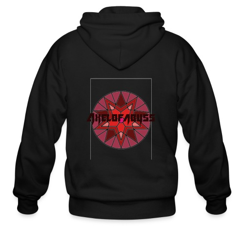 Axelofabyss shades of red - Men's Zip Hoodie