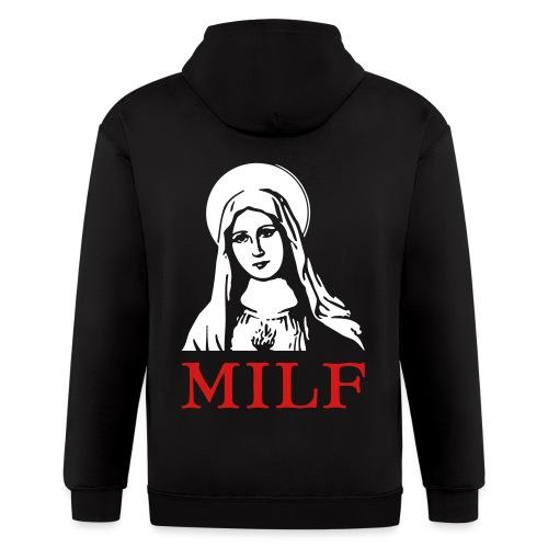 MILF - Men's Zip Hoodie