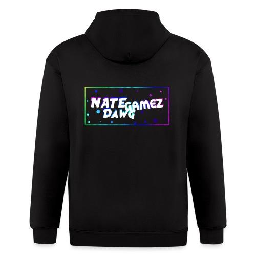NateDawg Gamez Merch - Men's Zip Hoodie