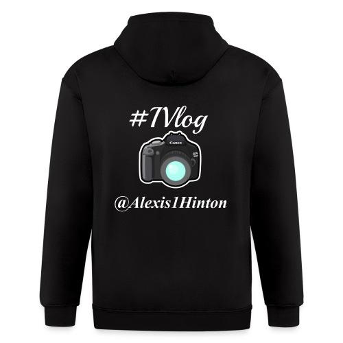 Vlogger Shirt - Men's Zip Hoodie