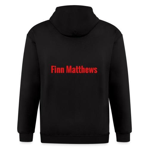 FM Logo - Men's Zip Hoodie