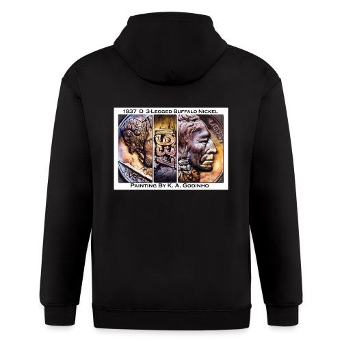 118 shirt ka copy - Men's Zip Hoodie