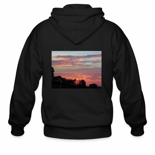 Sunset of Pastels - Men's Zip Hoodie