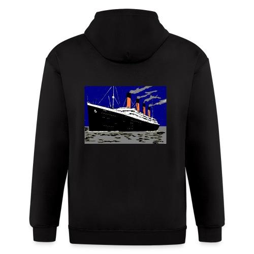 TITANIC - Men's Zip Hoodie