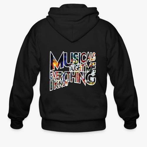 MTMEIK Broadway - Men's Zip Hoodie