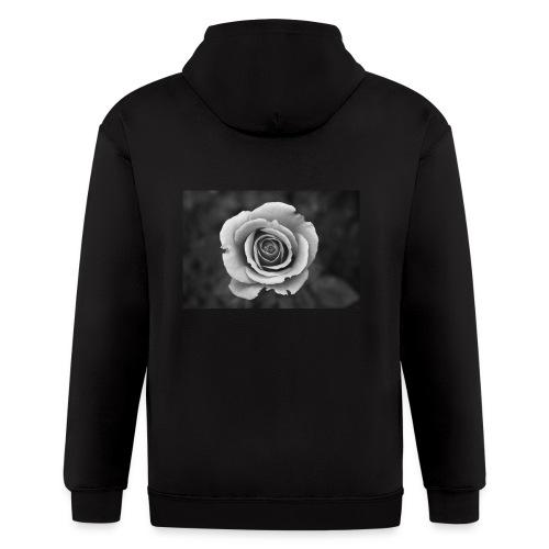 dark rose - Men's Zip Hoodie