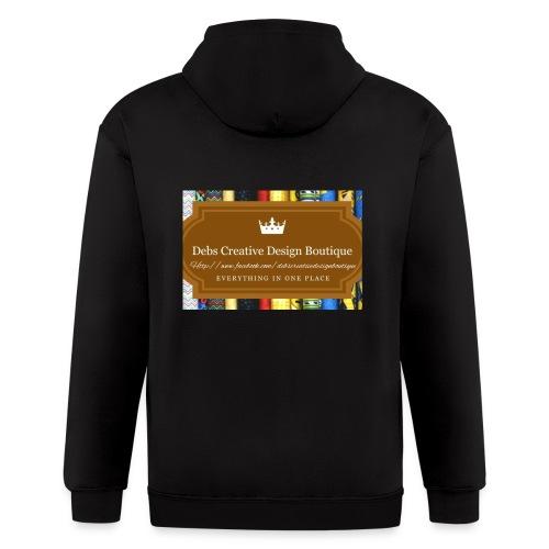 Debs Creative Design Boutique with site - Men's Zip Hoodie