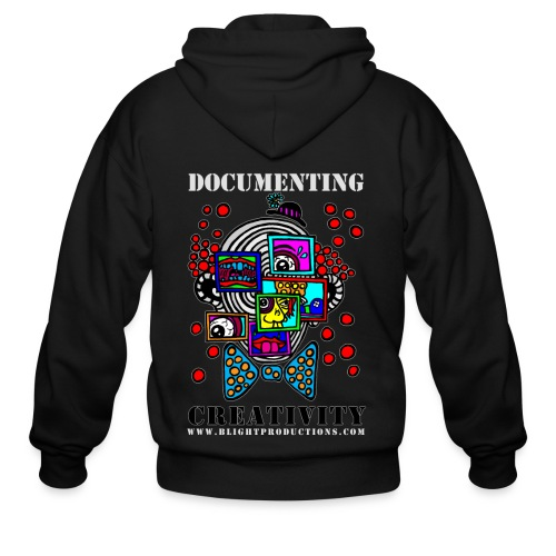 Documenting Creativity Color - Men's Zip Hoodie