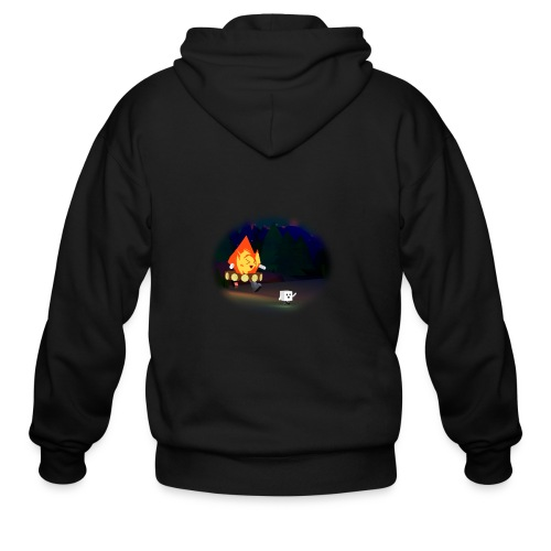 'Round the Campfire - Men's Zip Hoodie