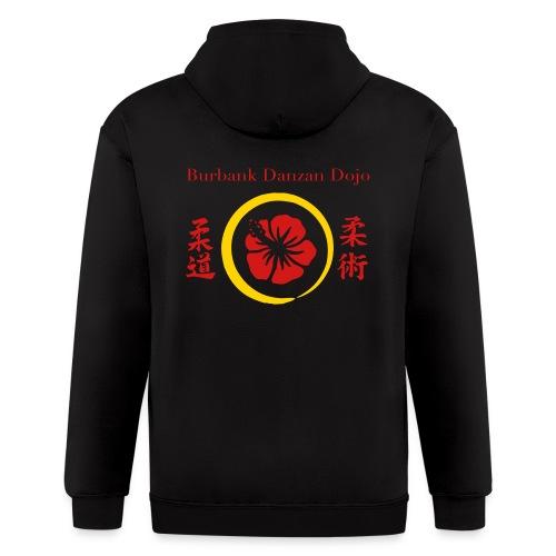 2012 color logo - Men's Zip Hoodie