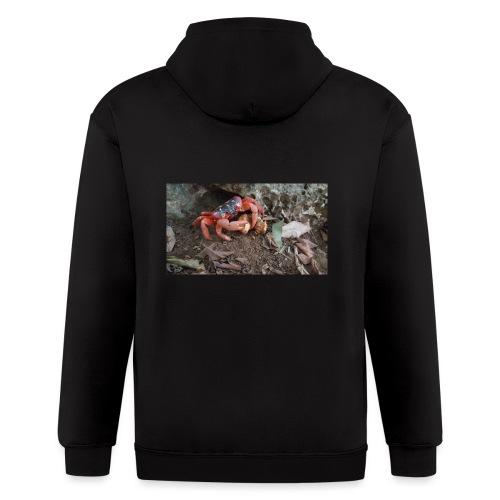 Red Crab - Men's Zip Hoodie