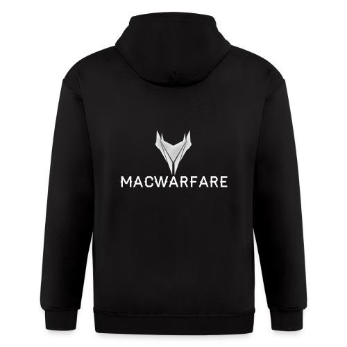 MacWarfare Channel Logo - Men's Zip Hoodie