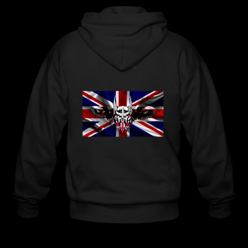 SOO Union Jack 1 - Men's Zip Hoodie