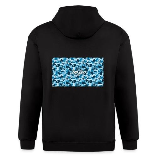Iyb leo bape logo - Men's Zip Hoodie