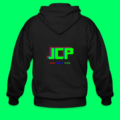 James Christian Plays! Original Set - Men's Zip Hoodie