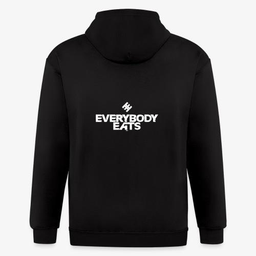 Everybody Eats - Men's Zip Hoodie