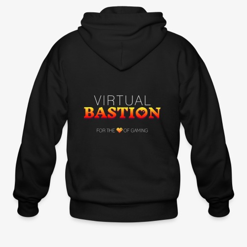 Virtual Bastion: For the Love of Gaming - Men's Zip Hoodie